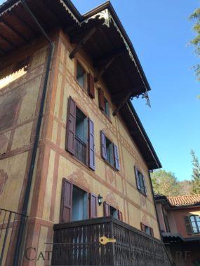 facciata laterale angolo