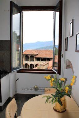 Vista dalla finestra cucina